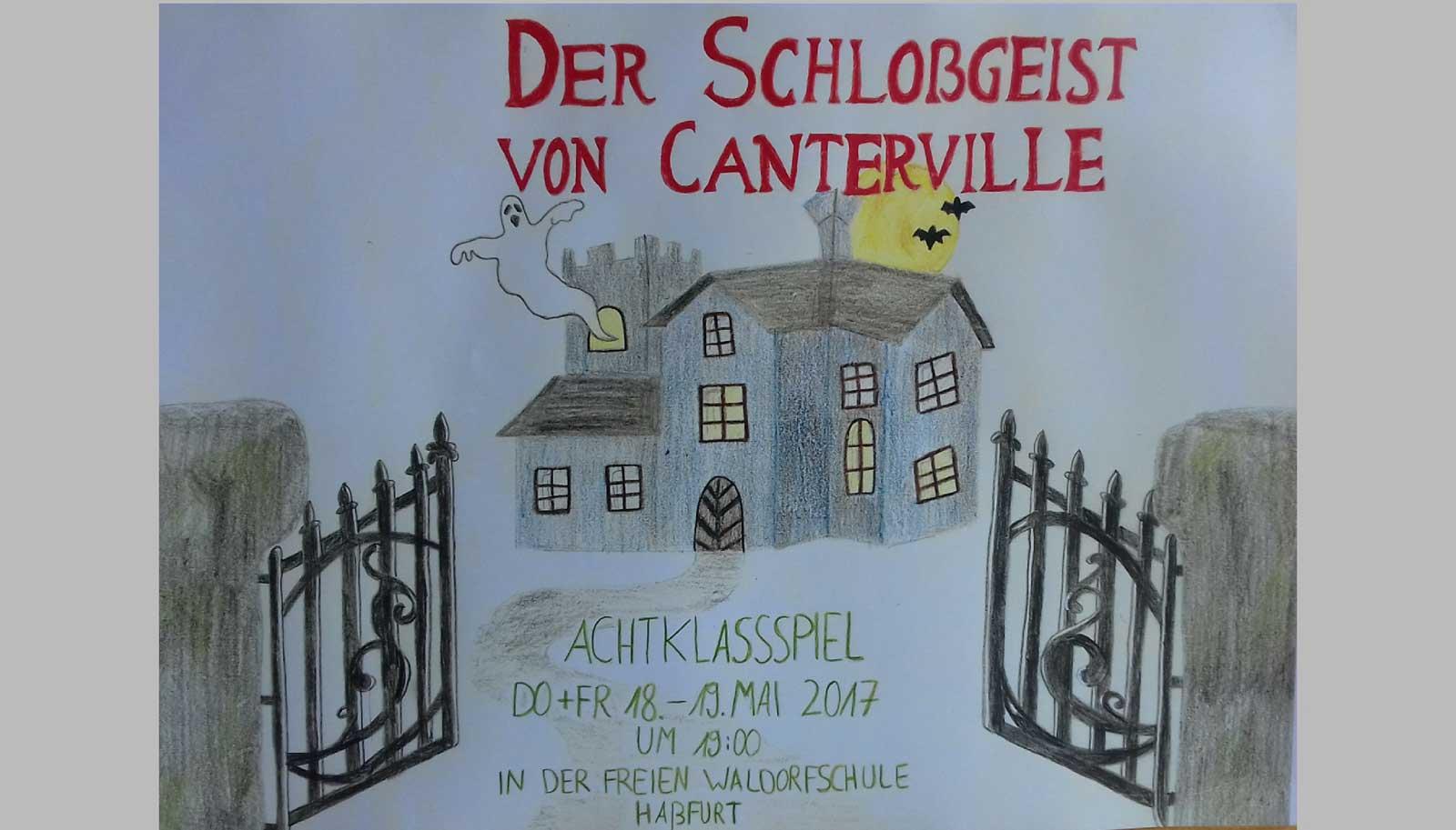 Das Schloßgeist von Canterville nach Oscar Wilde