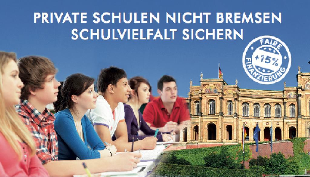 Vielfalt erhalten – Forderungen der Bayerischen Privatschulen für die Legislaturperiode 2018-2023