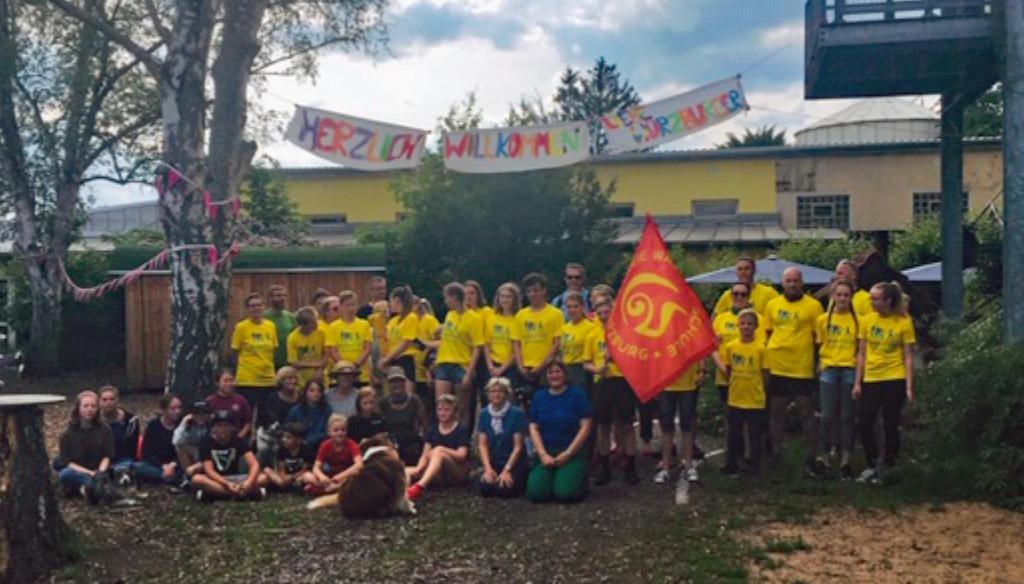 Weltweiter Staffellauf von Waldorfschule zu Waldorfschule zum 100jährigen Geburtstag