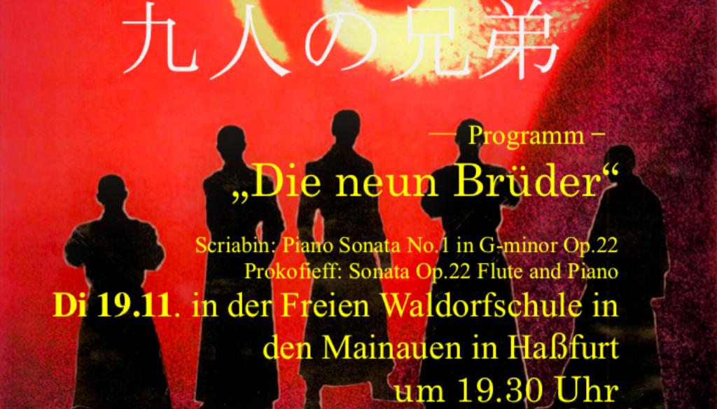 Japaner in der Waldorfschule in Haßfurt zu Besuch