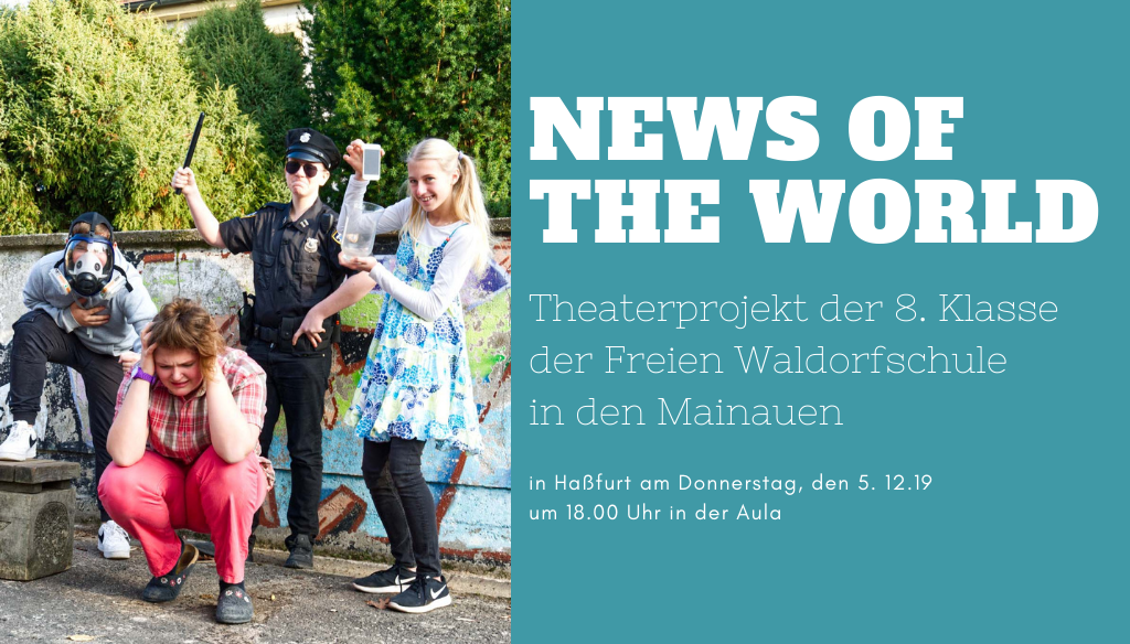 """News of the World"" – Theaterprojekt"