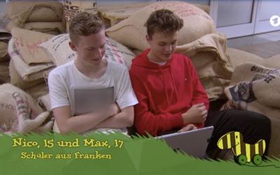 """Erfreuliche Nachrichten von den CafeOhne2fel """"Klimahelden"""""""