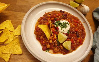 Rezepte aus der Schulküche – Chili con Buchweizen