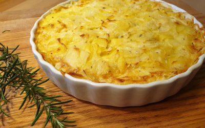 Rezepte aus der Schulküche – Kartoffelgratin