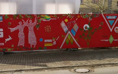 Kunst am Zaun